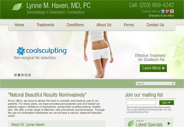 Medical Website Design Portfolio